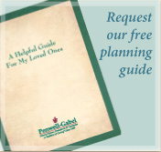 Request a free funeral or cremation planning guide from Penwell-Gabel Herington
